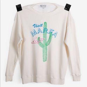 Wildfox oversized sweater